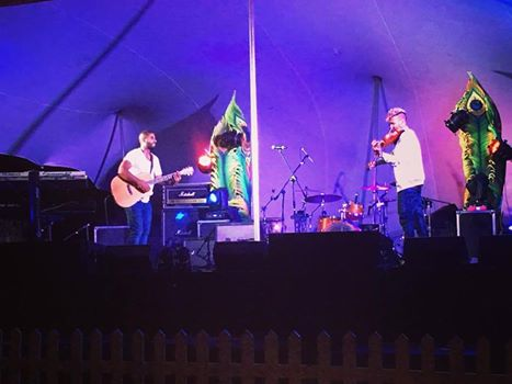 Acoustic Element on stage in Arniston